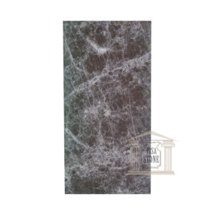 Dark Emperador, glazed polished Brown marble tiles