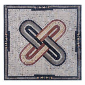 Ubreakable Bond Marble Stone Mosaic Art
