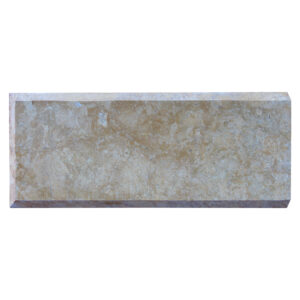 Glazed polished Dark Yellow Limestone Quoins