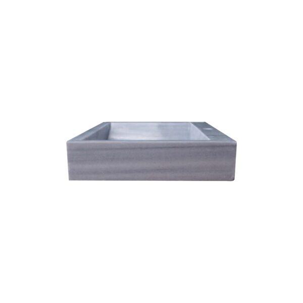 Glazed polished Grey Marble Wash Basin