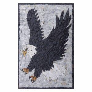Eagle Marble Stone Mosaic Art