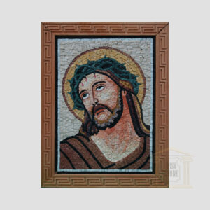 Jesus Christ Marble Stone Mosaic Art