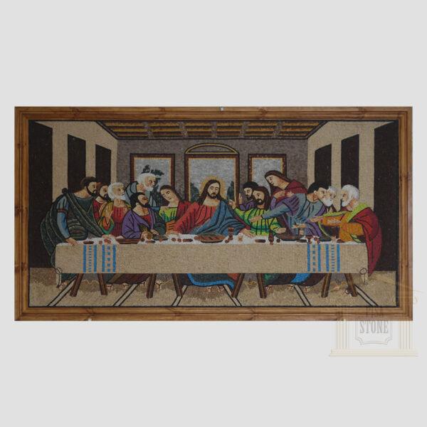 The Last Supper / Il Cenacolo Marble Stone Mosaic Art