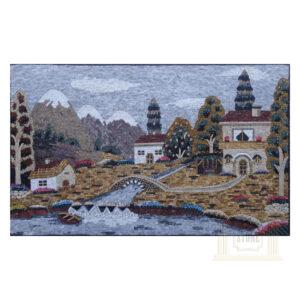 The Riverside Marble Stone Mosaic Art