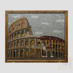 Colosseum, Rome Marble Stone Mosaic Art