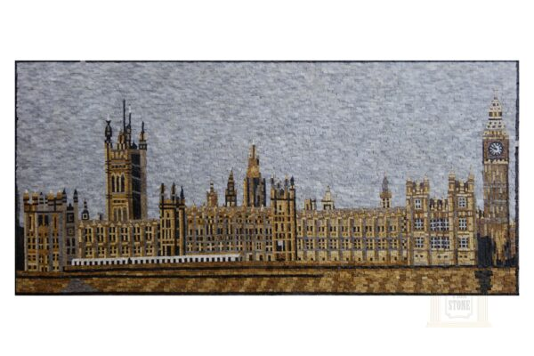 The Palace of Westminster Marble Stone Mosaic Art