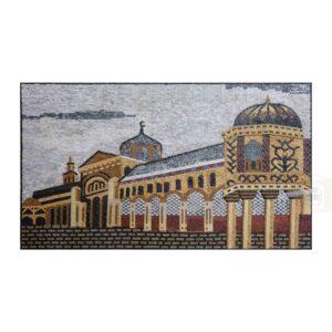 Al-Ummawy Mosque Marble stone Mosaic Art