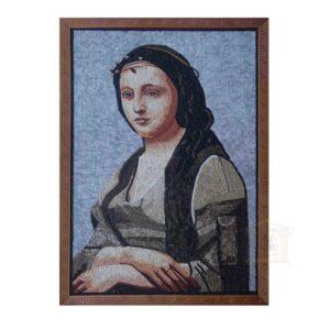 Mona Lisa Marble Stone Mosaic Art