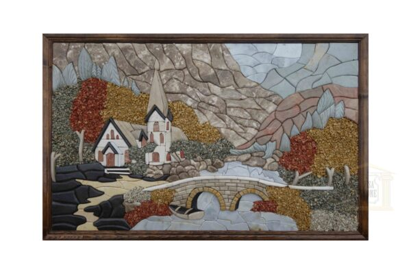 The old church 3D Mosaic Art