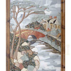 Down by the riverside 3D Mosaic Art