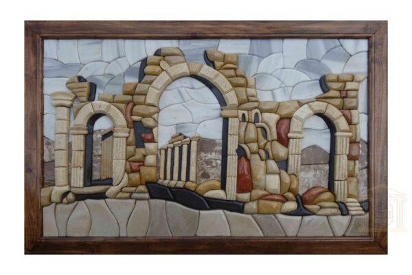 Ancient Tadmor 3D Mosaic Art