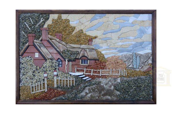 Sunny Day at Grandpa's Farm 3D Mosaic Art