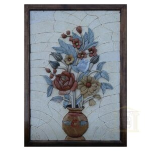 Yellow and Red Roses 3D Mosaic Art