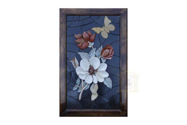 3D Spring Flower Bouquet (Left) Mosaic Art