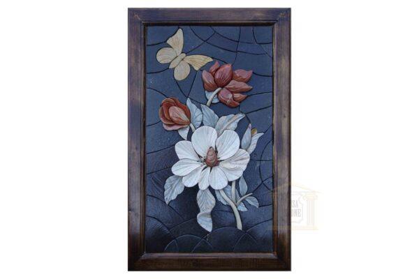 3D Spring Flower Bouquet (Right) Mosaic Art