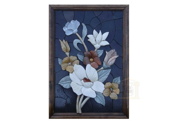 Night Blooming Flowers (Right) 3D Mosaic Art