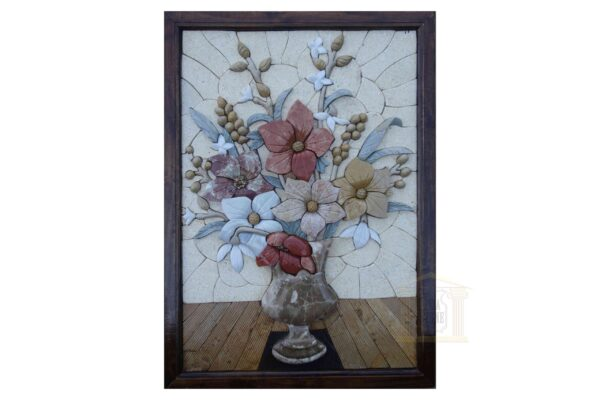 Table flower 3D Mosaic Art