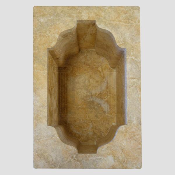 Mattt Dark yellow Limestone Urn Garden 5 Smart Stone urns, planters, vases