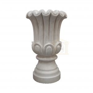 New Matt White Limestone Urn Garden Smart Stone urns, planters, vases
