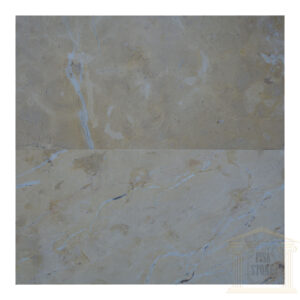 Brushed Antique golden cream limestone tiles