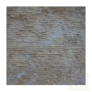Split face Dark yellow limestone Wall tiles
