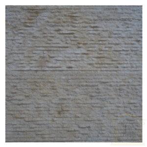 Split face light yellow limestone Wall tiles