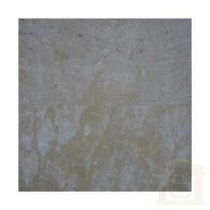 Brushed Antique finish light yellow limestone tiles