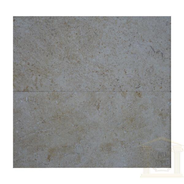 Glazed polished light yellow limestone Wall tiles