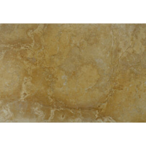 Glazed polished Dark Yellow limestone