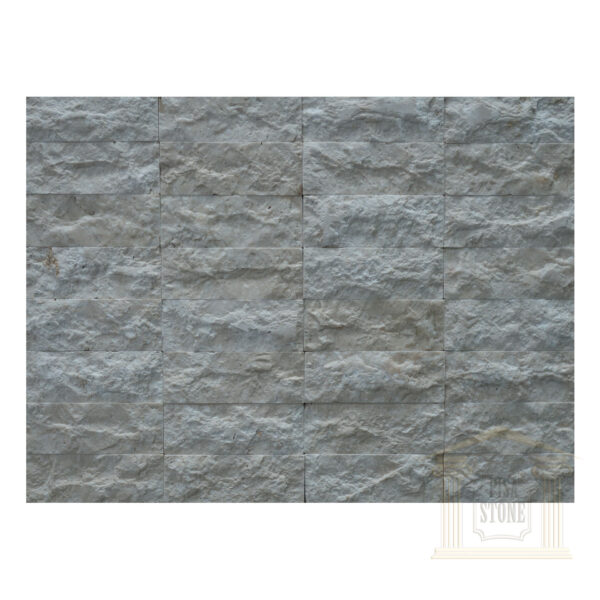 White bricks Limestone wall cladding