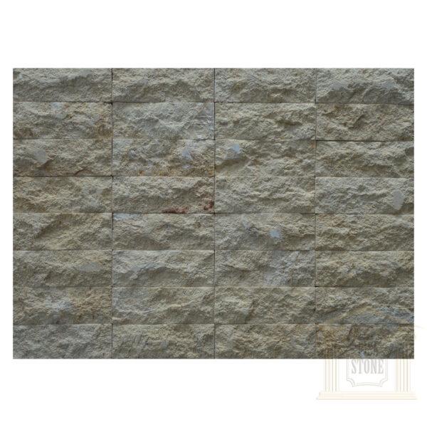 Light yellow bricks Limestone wall cladding