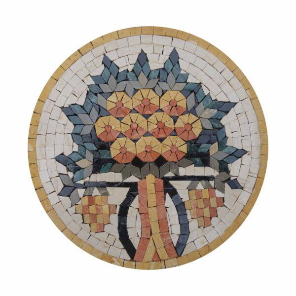 Tree Of Equality Marble Stone Mosaic Art