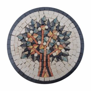 Vien Of Life (Blue) Marble Stone Mosaic Art