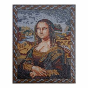 Mona Lisa v2 Marble Stone Mosaic Art