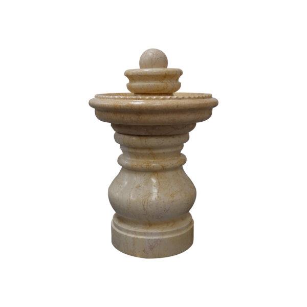 Papaya Whip Marble Spinning Small Ball Fountain