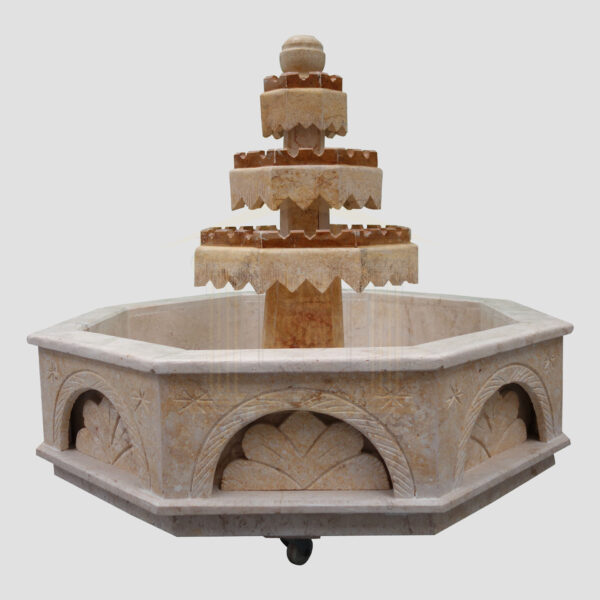 Beauitful Patterned Stone fountain