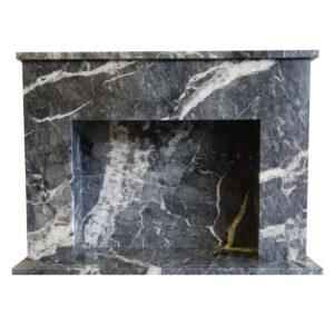 Black-Veined-Marble-Fireplace-Pisa-Stone