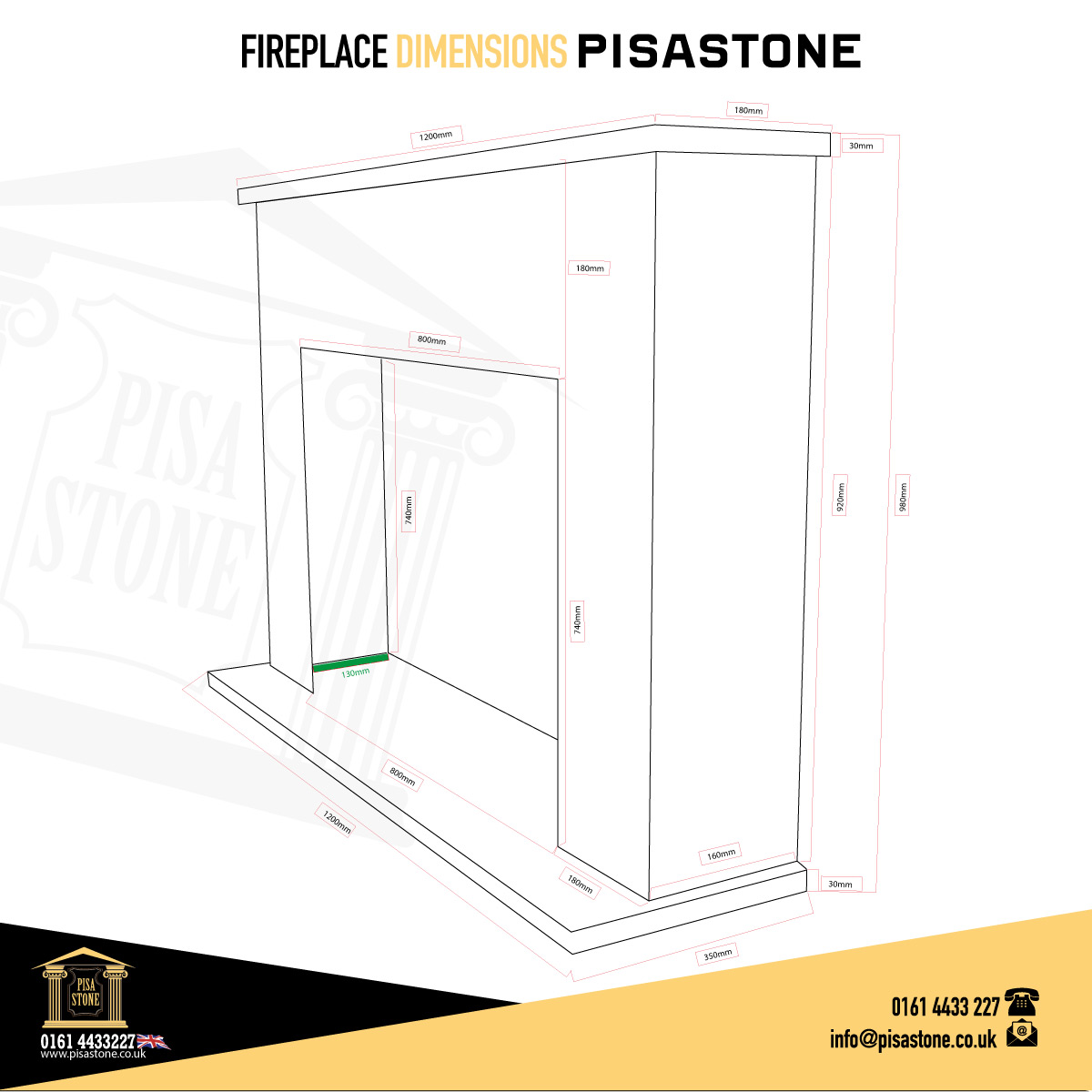 Black-Veined-Marble-Fireplace-Pisa-Stone-Dimensions
