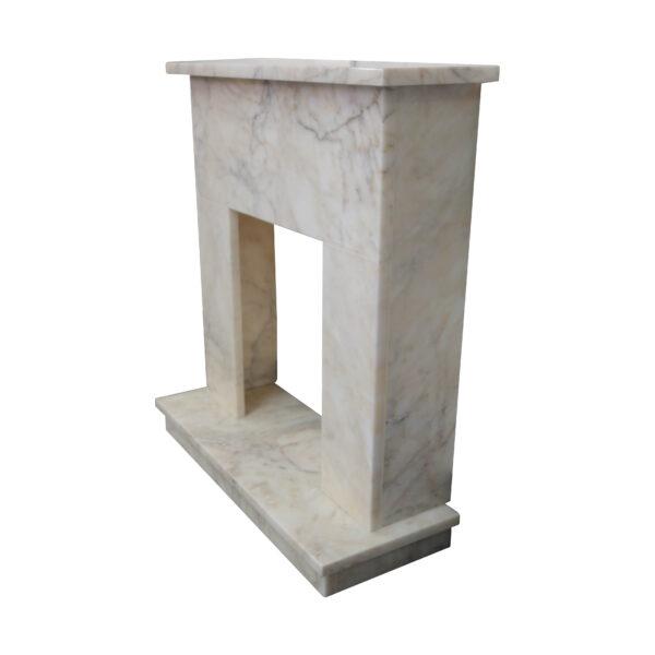 Afyon Sugar Marble Fireplace Surround