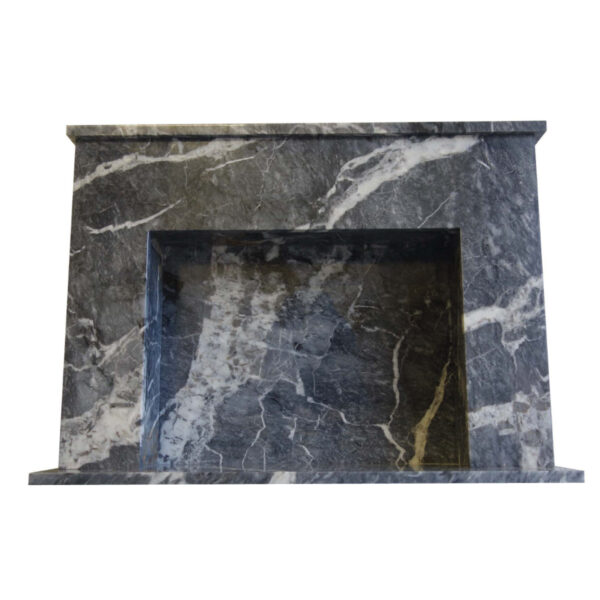 Down-side-Black-Veined-Marble-Fireplace-Pisa-Stone
