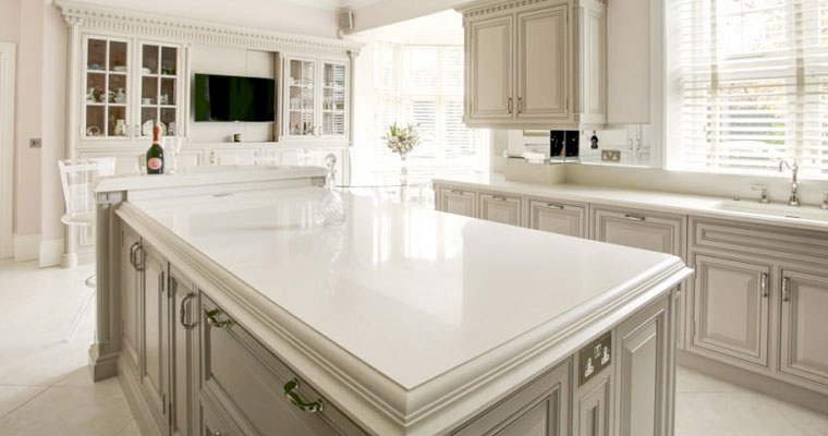 white-durable-arenastone-worktop, Quartz-worktops, Marble-worktops, Granite-worktops & Kitchen Worktops