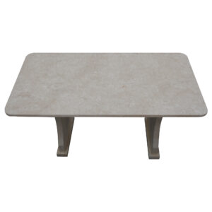 Garden White Stone Table, TA-018, 1