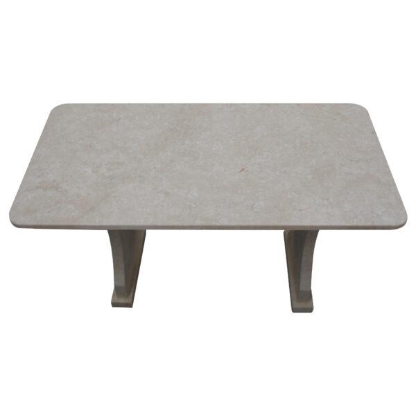 Garden White Stone Table, TA-018, 1