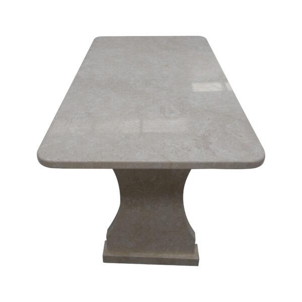 Garden White Stone Table, TA-018, 2