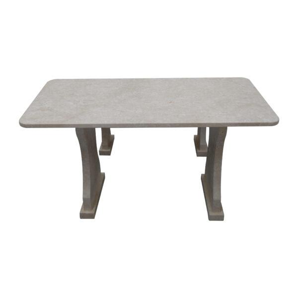 Garden White Stone Table, TA-018