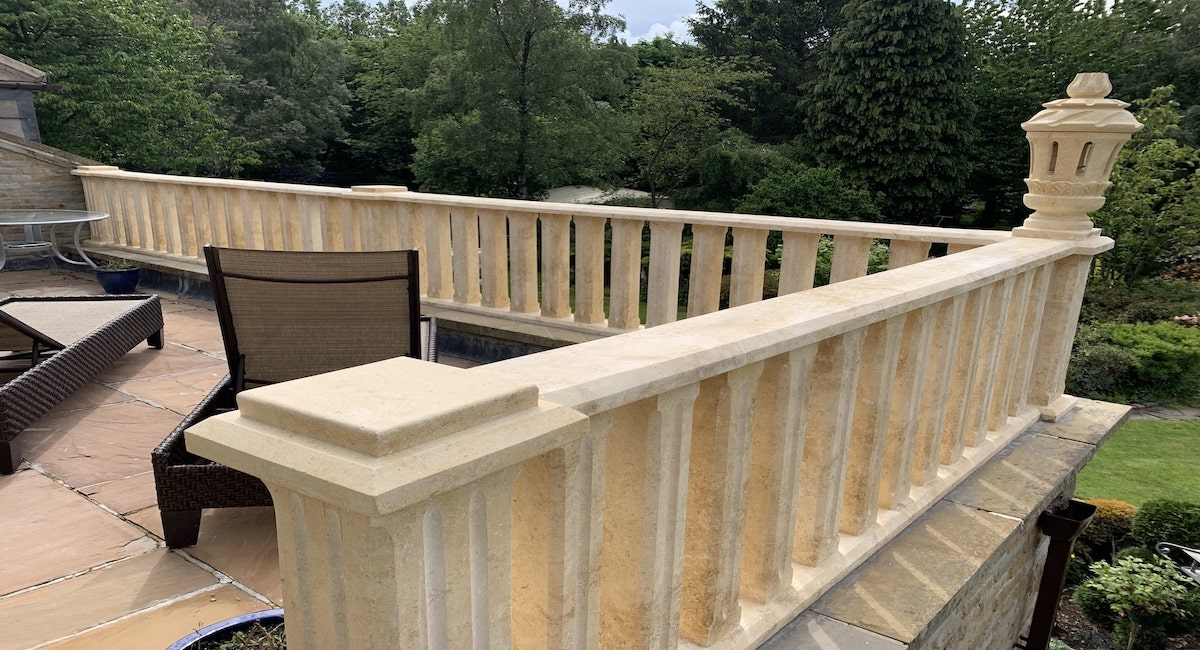 Stone Balustrade Base & Rail | Balustrading