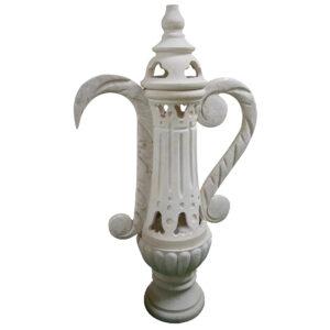 Limestone Handcrafted Coffee Pot Arabic Dallah FPP-002
