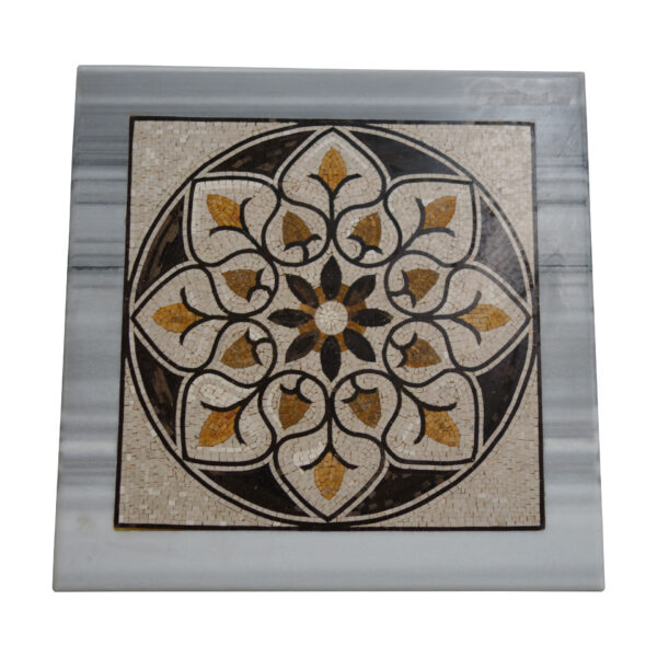 Marble Mosaic Square Table TA-013 1