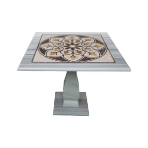 Marble Mosaic Square Table TA-013