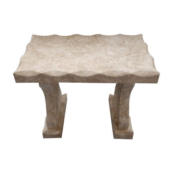 Crema Limestone Bench Set CH-010 11